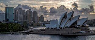 Sydney in Australien: Investmentfonds in diesem Land gehören zu den besonders günstigen.