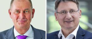 Heiner Feldhaus (li.), Stefan Hanekopf: Bei den Concordia Versicherungen deutet sich ein Führungswechsel ab.