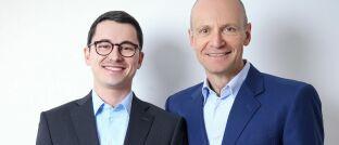 Alexander Weis (li.) und Gerd Kommer vom Finanzdienstleister Gerd Kommer Invest sagen: Privatpersonen unterschätzen bei Vermietimmobilien die Risiken.