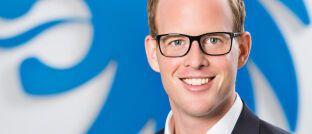 Michael Panitz: Der 32-Jährige übernimmt 2020 die Leitung des Exklusivvertriebs bei der Versicherungsgruppe die Bayerische.