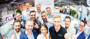Branchennachwuchs: Zwölf Finalisten konkurrierten um den diesjährigen Jungmakler Award.