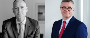 Neu im Vertrieb von Dolphinvest: Peter Stowasser (li.). Rechts Dolphinvest-Co-Chef Michael Klimek.