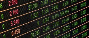 Kurstafel: Unsere aktuelle Statistik zeigt wieder die besten Produkte am deutschen Fondsmarkt.