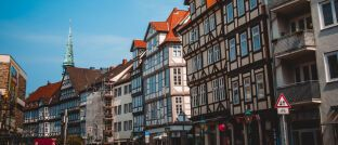 Die Altstadt von Hannover: Hannoversche Leben ist laut einer Studie der beste Versicherungsverein auf Gegenseitigkeit.