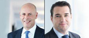 Geschäftsführer Juerg Sturzenegger (links) und Ex-Geschäftsführer Philipp Good, Fisch Asset Management
