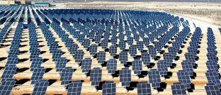 Solarkraftwerk in der Wüste