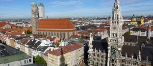 Die Münchner Innenstadt