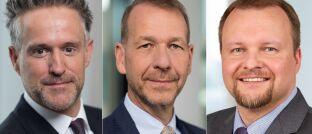 ürgen Wiedmann (l.), Christian Popp (M.) und Dirk Krupper