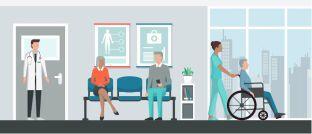 Im Jahr 2030 sind in Deutschland voraussichtlich 4 Millionen Menschen pflegebedürftig.