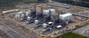 Kraftwerk des spanischen Energieunternehmens Iberdrola: Die Aktie ist die größte Position im Bantleon Dividend.