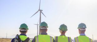 Windpark-Projekt: Der neue iShares-ETF legt in Schuldverschreibungen von Förderbanken an.