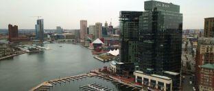Firmensitz von Legg Mason in Baltimore, USA: So überragend wie das Haus ist die wirtschaftliche Situation der Fondsgesellschaft nicht ganz.