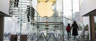 Apple-Store in Hongkong: Tech-Titel wie Apple haben maßgeblich zur US-Börsenrally der vergangenen Dekade beigetragen.