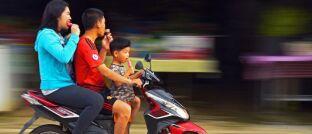 Straßenszene in Vietnam: Die Diabetikerrate hat sich weltweit binnen 30 Jahren verdoppelt.