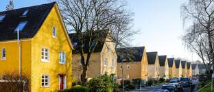 Einfamilienhäuser im Ruhrgebiet: Die Preissteigerung für Wohnhäuser hat sich im vergangenen Jahr verlangsamt.