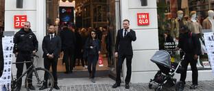 Uniqlo-Filiale in Kopenhagen: Die japanische Modemarke dehnt ihre Geschäftstätigkeit in Europa aus.