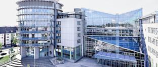 Gebäude der Provinzial Rheinland in Düsseldorf-Wersten: Mindestens ein Mitarbeiter des öffentlichen Versicherers hat sich mit dem Coronavirus infiziert.