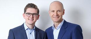 Können kapitalbildenden Lebensversicherungen nichts abgewinnen: Gerd Kommer (re.) und Jonas Schweizer von der Honorar-Finanzanlagenberatung Gerd Kommer Invest.