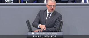 FDP-Bundestagsabgeordneter Frank Schäffler: Eine Kleine Anfrage soll Details zur geplanten Bafin-Aufsicht für Finanzanlagenvermittler ans Licht bringen.