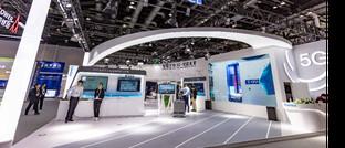 Messestand des Hongkonger Telekom-Unternehmens Comba Telecom Systems: Die Aktie des Unternehmens ist die größte Position (1,6 Prozent) im iShares Smart City Infrastructure ETF