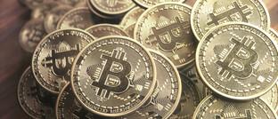 Bitcoin-Fans werben mit Wertstabilität.