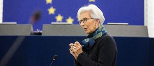 EZB-Präsidentin Christine Lagarde: Mit Spannung war das Ergebnis der EZB-Sitzung erwartet worden.