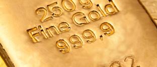 Goldbarren: In Krisen steigt der Wert des Edelmetalls.