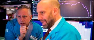 Börsenhändler in New York: Selbst Portfolios mit risikoarmen Wertpapieren sind derzeit schwer unter Druck.