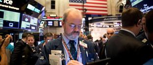 Trader in New York