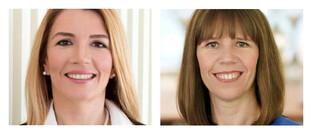 Aylin Somersan Coqui (l.) und  Renate Wagner: Im Vorstand der Allianz Deutschland gibt es eine neue Zuständige für das Personalressort.