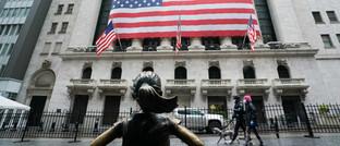 Wertpapierbörse in New York.