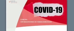 Screenshot der neuen BdV-Seite: Der Bund der Versicherten (BdV) beantwortet die wichtigsten Fragen zu privaten Versicherungen in Zeiten der Corona-Krise.