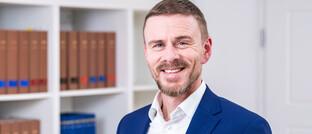 Jan C. Knappe: Der Rechtsanwalt vertritt zahlreiche Vermittler in Schadenersatzprozessen von P&R-Investoren.