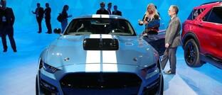 Neuvorstellung des Ford Shelby GT500 auf der Detroit Motor Show im Frühjahr 2019: Ein Jahr später droht den Anleihen des US-Autobauers Ford die Herabstufung auf Ramsch-Niveau.