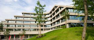 Ebase-Zentrale in Aschheim bei München: Die Fondsplattform gehört seit einger Zeit der FNZ-Gruppe und schafft nunmehr die Strukturen für mehr Unternehmensentwicklung.