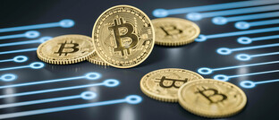 Symbolbild von Bitcoins.