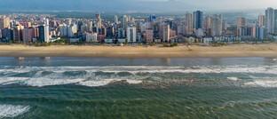 Leere Strände in Praia Grande, Brasilien: Die gegenwärtigen massiven Verwerfungen an den Märkten bieten Fondsmanagern interessante Einstiegspunkte – auch in Schwellenländern.
