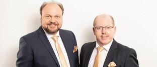 Ralph Thierer (links) und Jörg Tuschla von VMK Vermögen