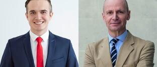 Gerd Kommer (r.) und Felix Großmann: Die beiden Finanzprofis raten Anlegern davon ab, auf eine besonders geniale Einzelaktie zu hoffen.