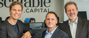 Die Scalable-Gründer (von links): Erik Podzuweit, Florian Prucker, Stefan Mittnik