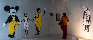 Banksy-Ausstellung in Prag: Auch Kunst ist eine Anlageklasse