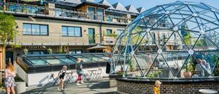 Ein grünes Haus in Malmö, Schweden: Die neuen ETFs von Credit Suisse Asset Management investieren unter anderem in umweltfreundliche Immobilienaktien.