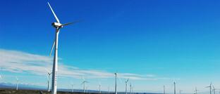 Windkraftanlagen in Sinkiang, China
