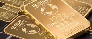 Goldbarren: Der Preis für das Edelmetall Gold erreichte Ende Mai ein neues Allzeithoch.