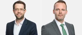 Ab sofort im Vorstand von Aberdeen Standard Investments Deutschland: Bernd Bechheim (links) und Marc Pamin