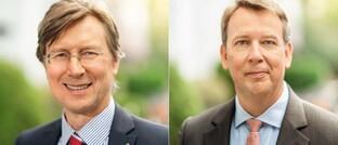 Dieter Helmle (l.), seit Juli 2020 Vorstand bei Source For Alpha, und Martin Klein, seit Mai 2020 Relationship-Manager beim Frankfurter Vermögensverwalter