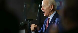 US-Demokrat Joe Biden: Derzeit deutet vieles darauf hin, dass er gegen Amtsinhaber Donald Trump gewinnt.