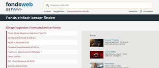 Website des Dienstleisters FWW: Dort sind die Nachhaltigkeits-Ratings abrufbar.