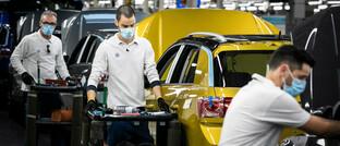 Fabrik in Portugal: Autobauer haben in Europa besonders viele Mitarbeiter in Kurzarbeit geschickt.