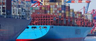 Hamburger Containerhafen: In keinem anderen europäischen Land – nicht einmal in den USA – war die unmittelbare fiskalische Antwort auf die Krise größer als in Deutschland (13,3 Prozent des BIP).